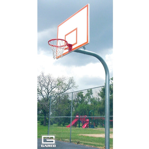 GN45 Basketball Gooseneck Pole 4 ft extension