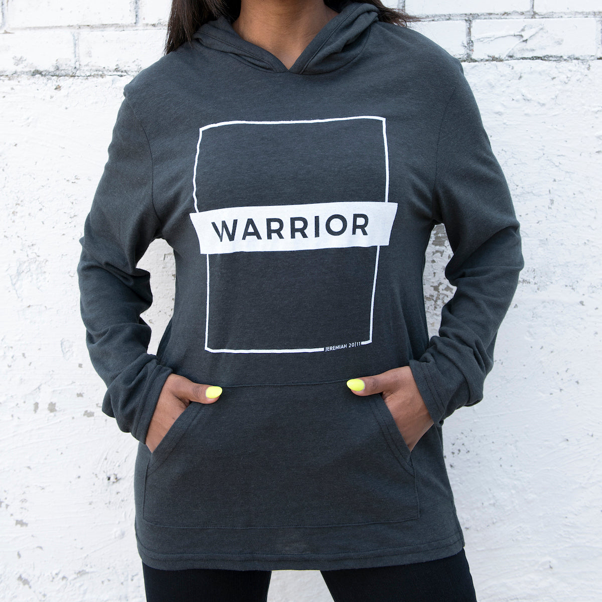 Warrior Hooded Pullover