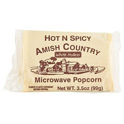 Hot & Spicy Microwave Popcorn