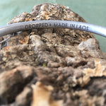 """Heart of PTown"" Peace Bomb Aluminum Bangle Bracelet"