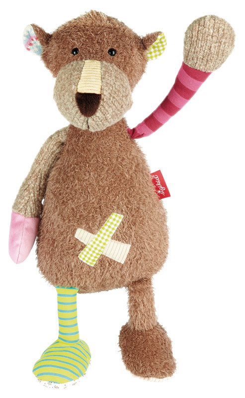 Semi Plush Patchwork Bear