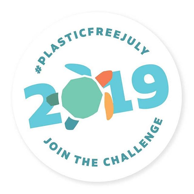 Don't be shy about plastic free July