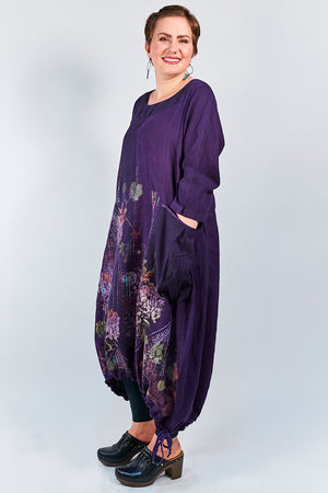 7217 Babielle Dress- Mystic Purple-P