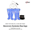 Recovery Systems Duo Legs, compression boots for 2 to share