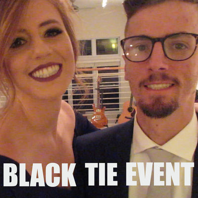 FIRST BLACK TIE EVENT