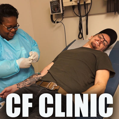 A DAY AT THE CF CLINIC