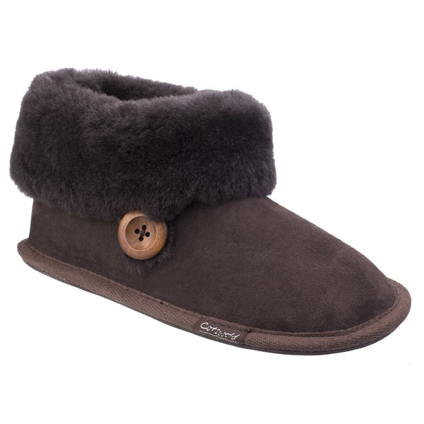 Cotswold Wotton Sheepskin Slippers-ShoeShoeBeDo