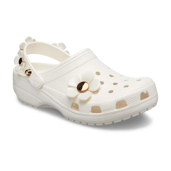 Crocs Classic Metallic Blooms Clogs
