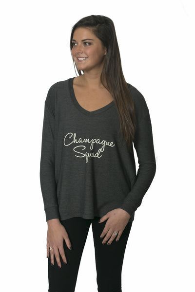 The 'Grayson' Sweatshirt - Champagne Squad
