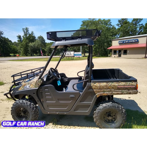 Huntve 4X4 Game Changer 72 Volt All Electric 2018 4X4 Hunting Vehicle Electric