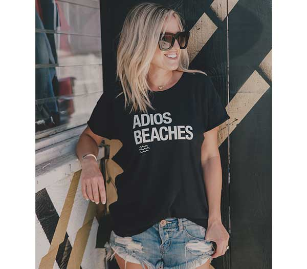 Adios Beaches Deconstructed Favorite Tee