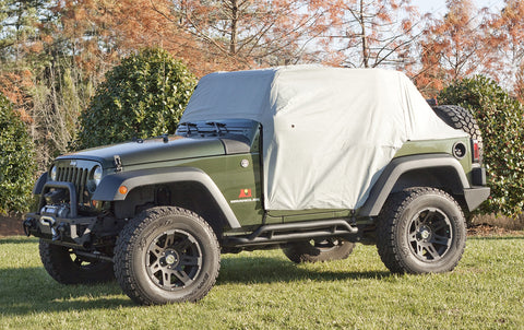Weather Lite Cab Cover by Rugged Ridge ('07-'18 Jeep Wrangler JK)