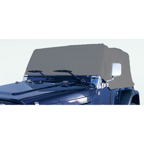 Weather Lite Cab Cover by Rugged Ridge ('76-'06 Jeep Wrangler CJ, YJ, TJ)