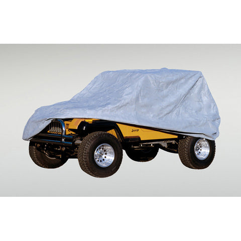 Weather Lite Full Jeep Cover by Rugged Ridge ('76-'95 Jeep Wrangler CJ, YJ)