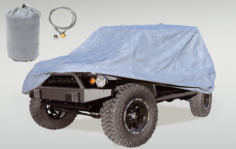 Car Cover Kit by Rugged Ridge ('07-'18 Jeep Wrangler JK)