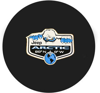 Mopar Jeep Arctic Edition Tire Cover (Wrangler CJ, YJ, TJ, & JK)