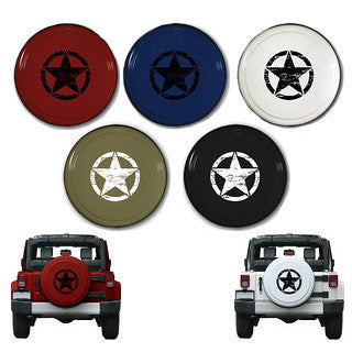 "Oscar Mike 30"" Rigid Jeep Tire Cover (Wrangler CJ, YJ, TJ, & JK)"