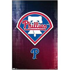 Shop Great Gift for Philadelphia Phillies Fans (Logo) Sports Poster Print (22x34)