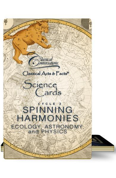 CLASSICAL ACTS & FACTS® SCIENCE CARDS, CYCLE 2 - Temporarily Out of Stock