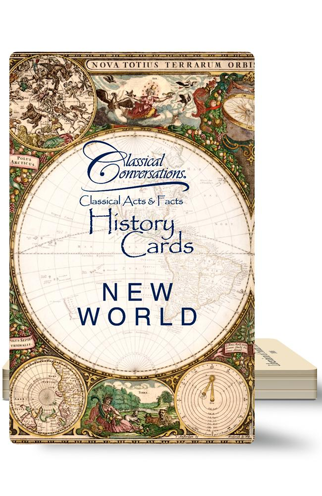 CLASSICAL ACTS & FACTS® HISTORY CARDS: NEW WORLD