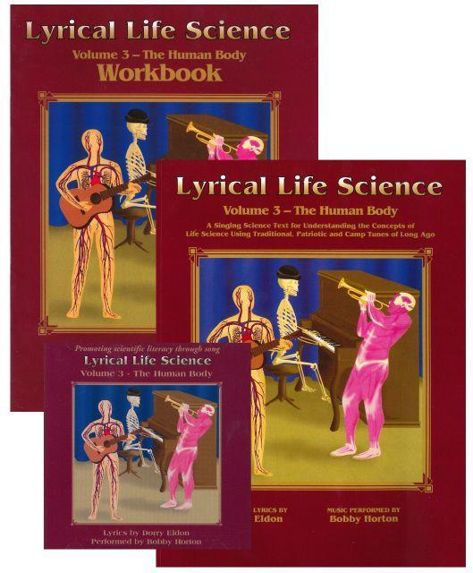 LYRICAL LIFE SCIENCE, VOL 3: THE HUMAN BODY (SET)