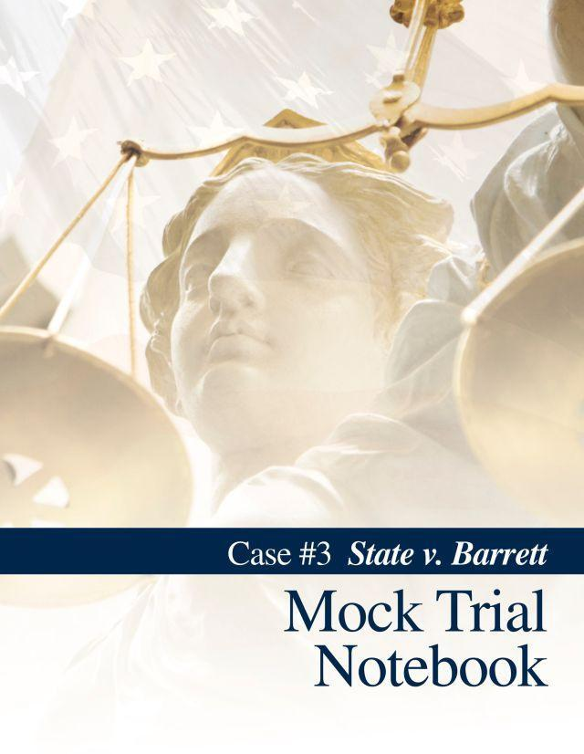 MOCK TRIAL NOTEBOOK, CASE 3 - Temporarily Out of Stock