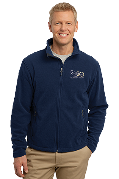 Men's Port Authority Value Fleece Jacket- True Navy