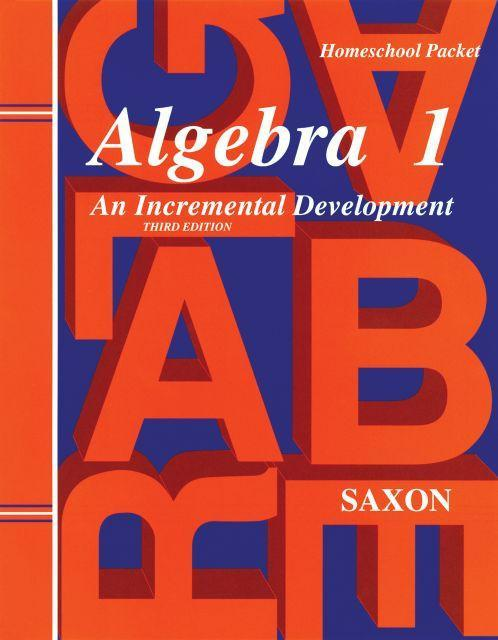 SAXON ALGEBRA 1 HOMESCHOOL KIT