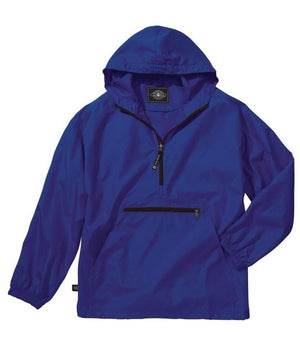 Youth Pack-N-Go Pullover- Royal Blue   -  Hurry While Supplies Last