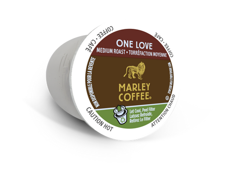 Marley Coffee One Love Coffee, k-cup 2.0 compatible