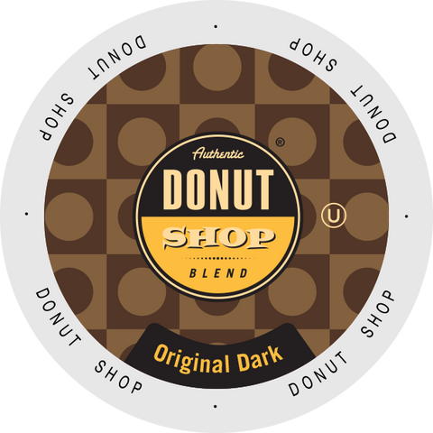 Authentic Donut Shop  Dark Roast coffee, k-cup 2.0 compatible