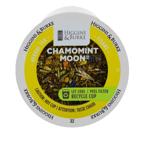 Higgins and Burke ChamoMint Moon Loose Tea, kcup 2.0 compatible