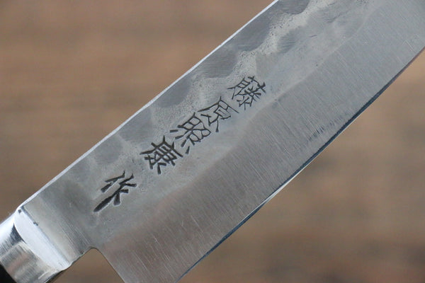 Yoshimi Kato Blue Super Clad Nashiji Gyuto Japanese Chef Knife 210mm