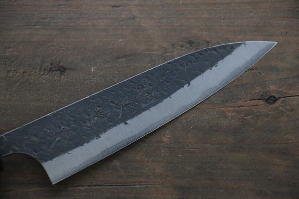 Kurosaki Blue Super Clad Hammered Kurouchi Petty Japanese Chef Knife 120mm