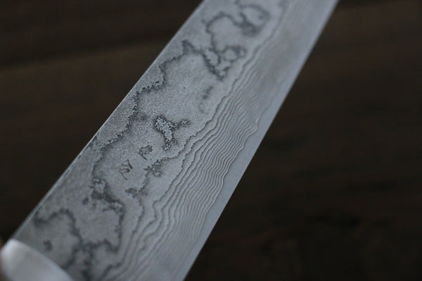 Saji VG10 Damascus Sujihiki Japanese Chef Knife 270mm with Bone Handle