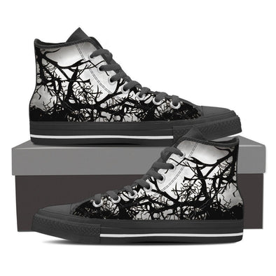 Mens Gloomy Tree High Top V2.