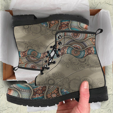 Handcrafted Ornate floral 3 Boots