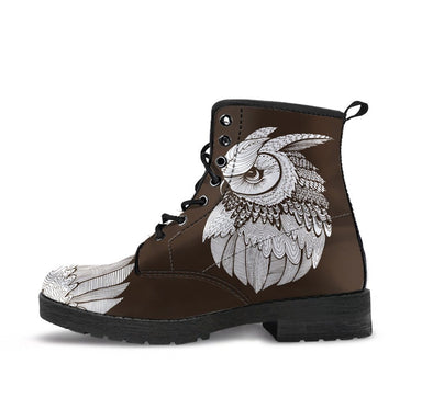 HandCrafted Owl Gazing Boots