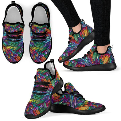 Limited Time 60% Handcrafted Boho Feather Mesh Knit Handcrafted Sneakers