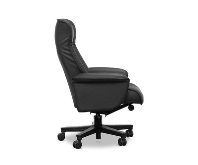 Aatos Reclining Office Chair Black - Scandinavian Designs
