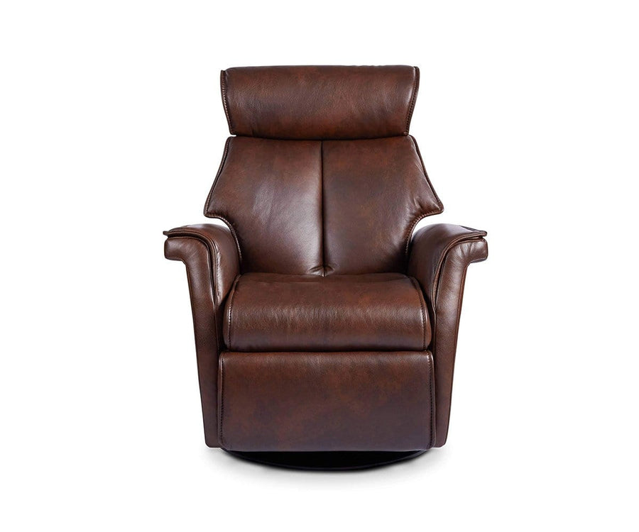 Korsvik Leather Power Recliner - Medium Saddle S550 - Scandinavian Designs