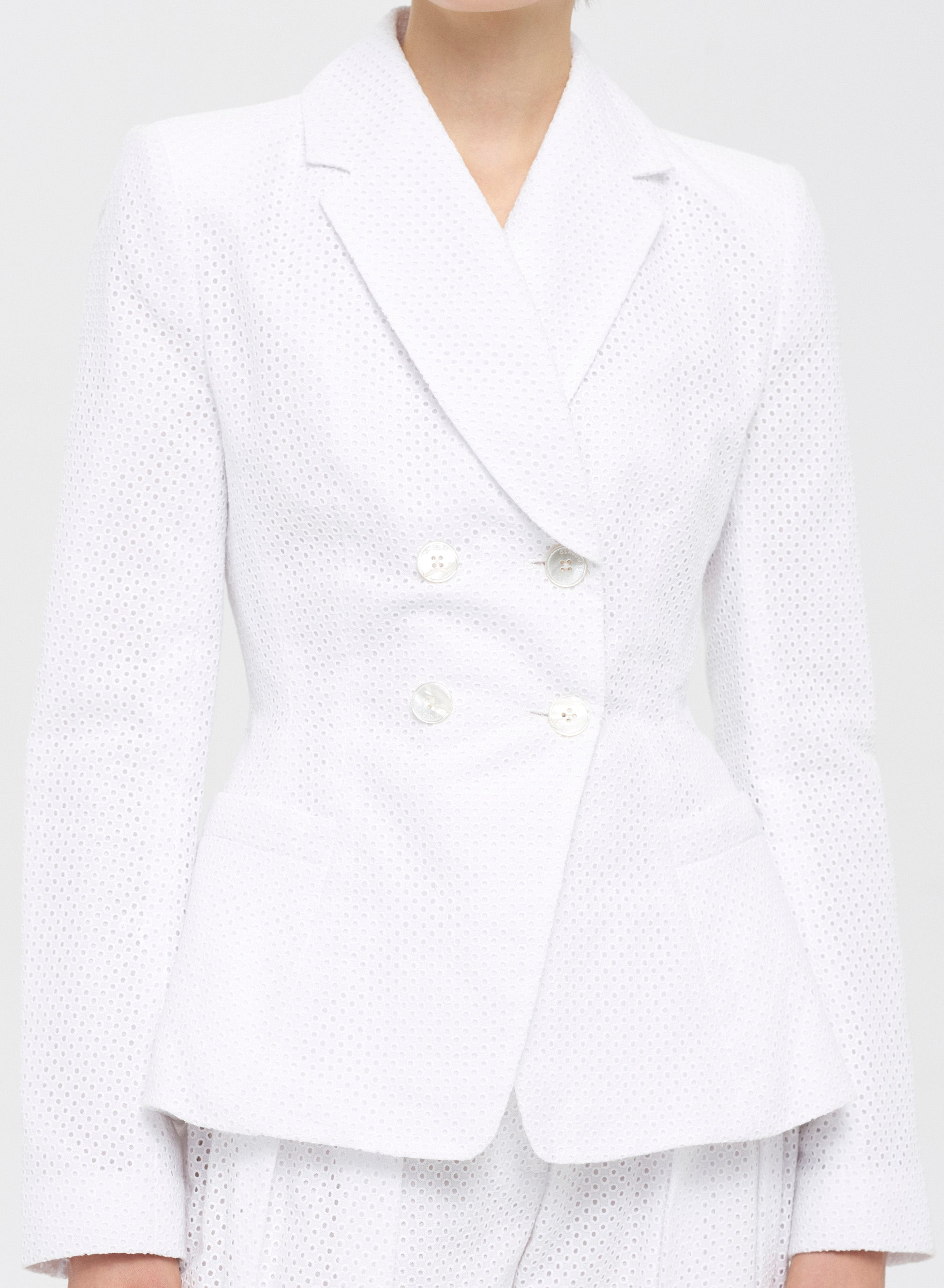 Hip Pad Tailored Jacket