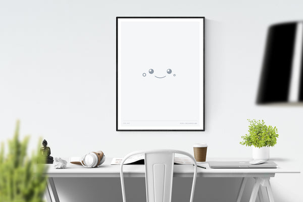 Cute Face 18in x 24in Framed Print