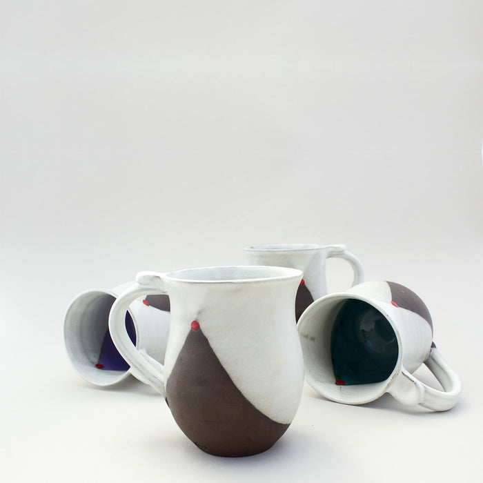 Blackware Mugs — set of 4 Made to order