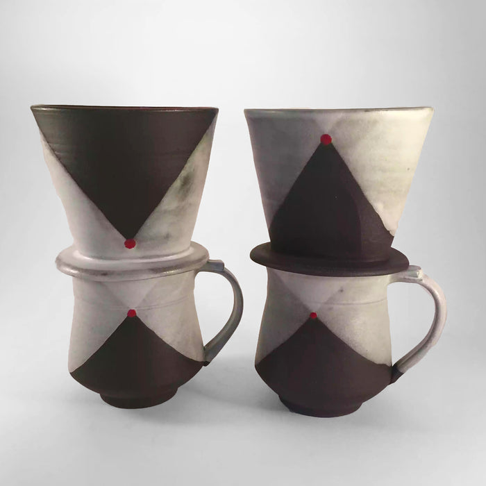 Blackware Pourover Set