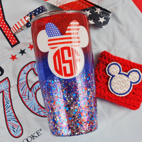 USA Mouse /// Stainless Steel Tumbler