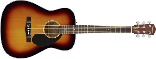 CC-60S Concert, Walnut Fingerboard, 3-Color Sunburst