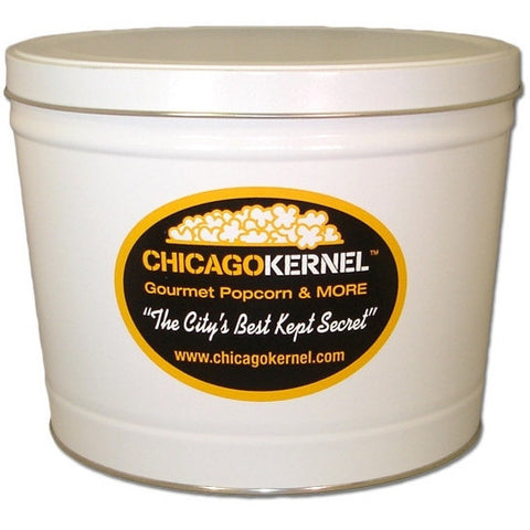 Chicago Kernel Signature - 2 Gallon Popcorn Tin