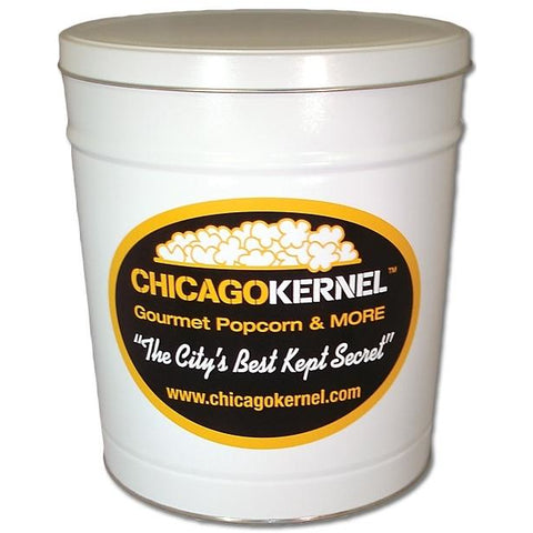 Chicago Kernel Signature - 3.5 Gallon Popcorn Tin