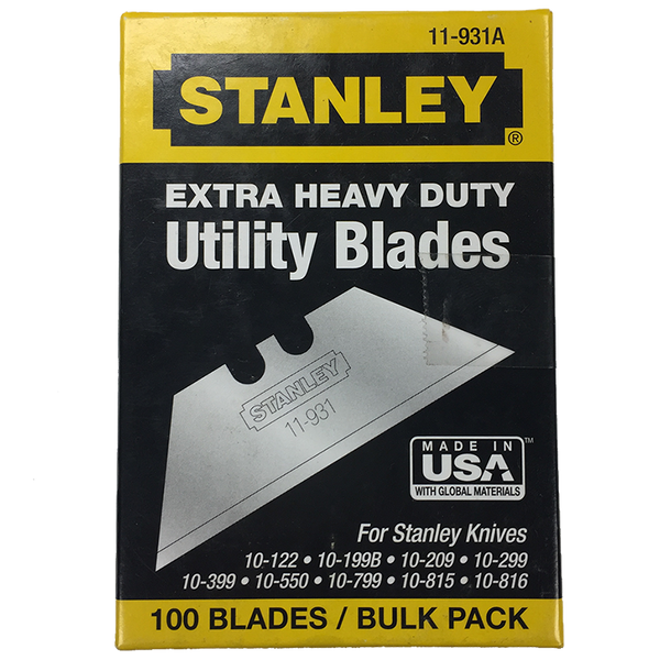 Box of Extra Heavy Duty Utility Blades